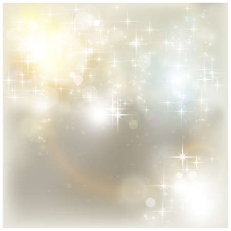 Shiny stars and light effects like lens flare and out of focus lights for a magical abstract background. Stock Vector - 15918323