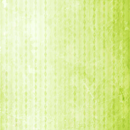 lozenge: Abstract grungy background with alternating stripes and rhombuses in shades of green.
