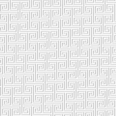 Simple geometric shapes forming a monochrome abstract seamless pattern, texture, or structure.  Vector