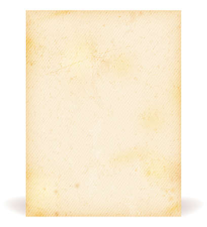 Brown beige grunge background faintly striped resembling old paper, parchment  Stock Vector - 19251710