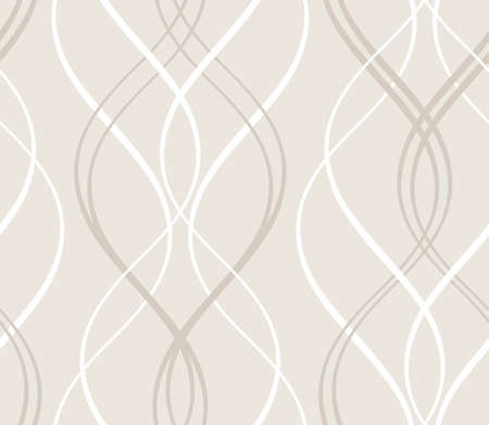 Curved stripes forming a decorative abstract background pattern that will tile seamlessly   Vettoriali