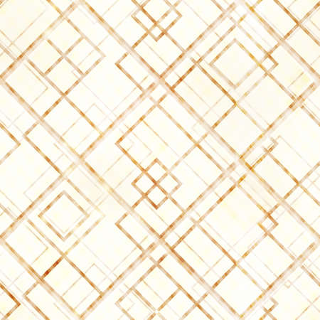 eps10: Abstract lines and rhombs design a seamless geometric pattern in color shades of  light brown, beige and light yellow or off-white. Overlying effects give it a  distressed feeling.  Illustration