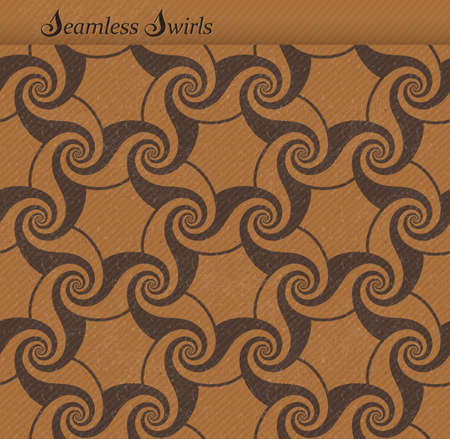 faint: Abstract seamless background pattern with a grunge texture and faint diagonal stripes. Repeating swirls, spirals forming a playful wave backdrop. JPG contains clipping path for pattern.