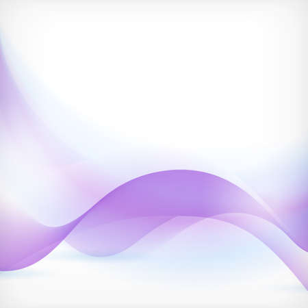 background: Soft and dreamy abstract background with wave pattern in shades of blue and purple.