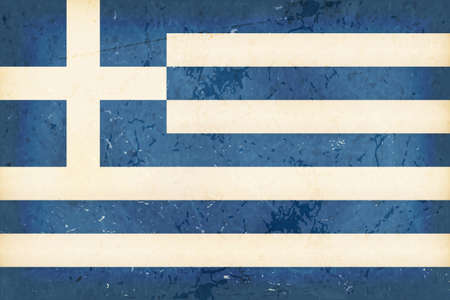 hoist: Vintage style flag of Greece. Grunge Elements give it an used and dirty feeling. Hoist (width)  Fly (length) of the flag = 2 to 3