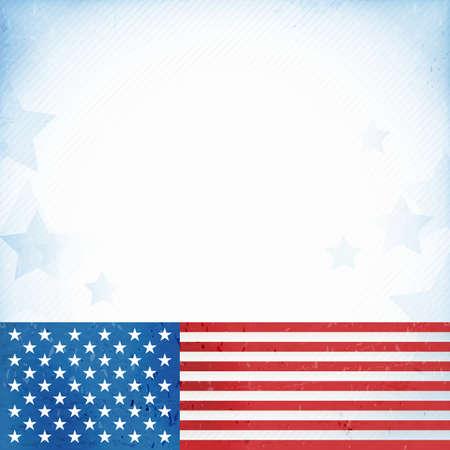 patriotic border: Bandera de los Estados Unidos de Am�rica con temas de fondo