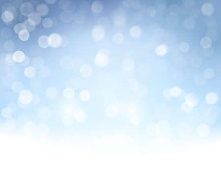 fondos azules: Efectos de luz y espumosos de luces de foco para un telón de fondo abstracto mágico para la fiesta de Navidad, temporada de vacaciones venir.