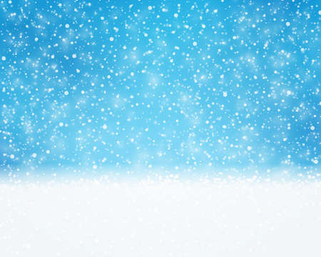 snowfalls: Textured blue white background for winter, holiday or Christmas themed designs. The snowfall pattern gives it a great wintry and dreamy feeling.