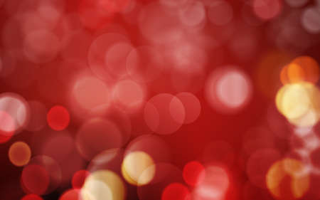 festive occasions: Abstract bokeh background in shades of red and dark red with blown out, blurred red golden light dots. Festive look and great for romantic occasions.