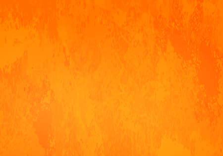 Abstract background in shades of vivid bright oranges with grunge elements.