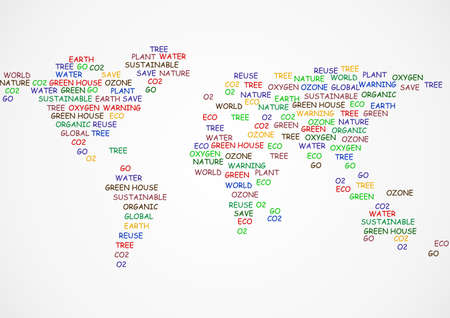 vector illustration of world map Illustration Vector