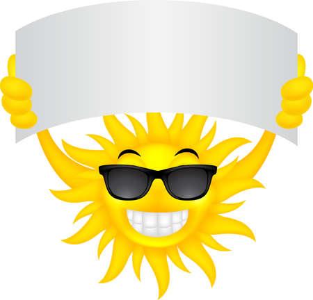 sun sign: Sun with sign