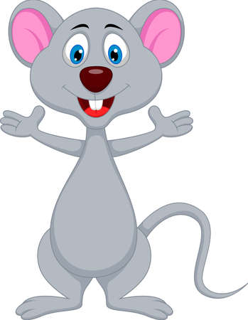 funny mouse cartoon Stock Vector - 20889657
