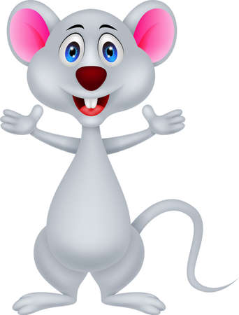 funny mouse cartoon Stock Vector - 20889661