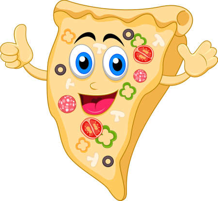 pizza cartoon character Çizim