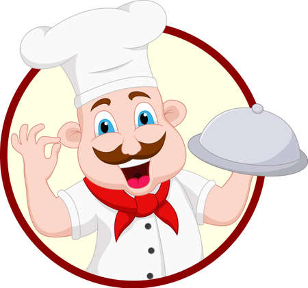 Cartoon Chef Character