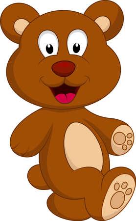 bear cartoon character Stock Vector - 22079991