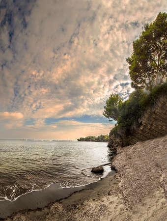 italian sea: Italian sea, Punta Licosa wonderful sea Stock Photo