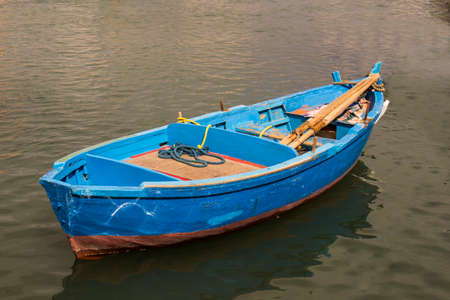 Bari Italy Fishermans Boat