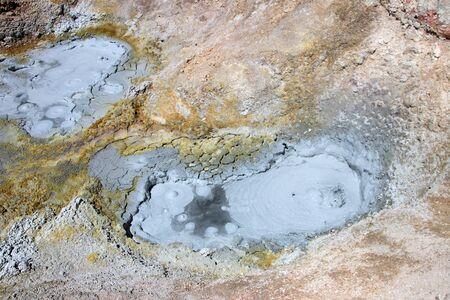 avaroa: Fumaroles at sol de manana geyser field, southern Bolivia