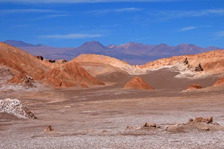 LUNA: Valle de la Luna, Valley of the Moon, west of San Pedro, Atacama desert of Chile