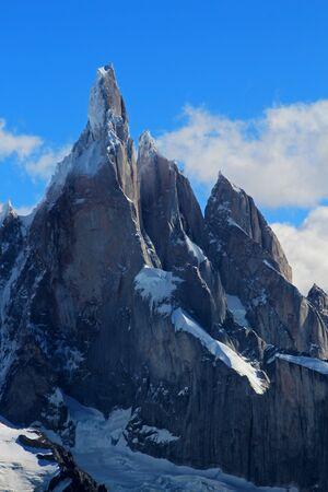 calafate: Cerro Torre mountain. Los Glaciares National park, Patagonia, Argentina
