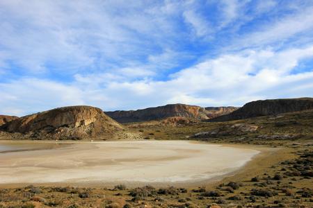 Beautiful landscape near Paso Roballos, near border of Argentina and Chile Stock Photo