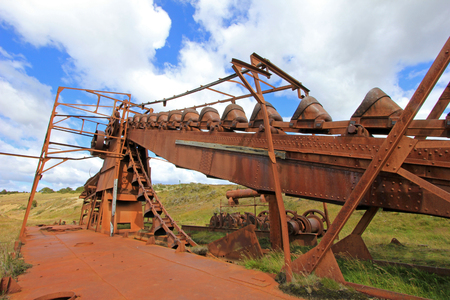 Abandoned Mining Equipment Stock Photos And Images - 123RF