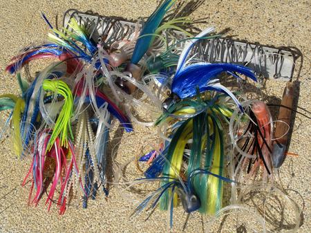 Big game fishing gear, equipment, Costa Rica, Central America