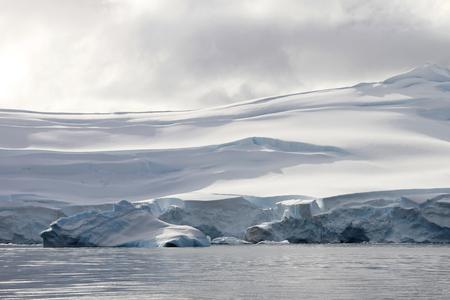 Beautiful glacier, Antarctic ocean, Antarctic Peninsula Antarctica