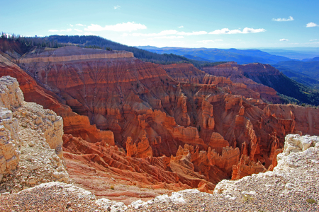 Cedar Breaks National Monument in Utah USA