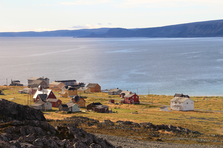 Hamningberg fishing village, northern Norway, Scandinavia Europe