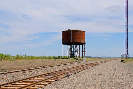 Abandoned railway train station of Piedra Sola, Salto, Uruguay, South America