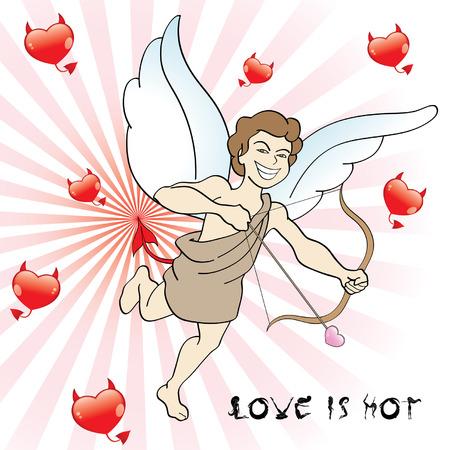 eros: Evil Eros Illustration