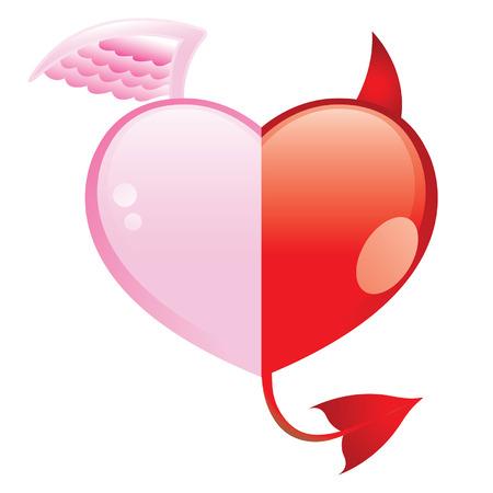 diablo y angel: El amor es� Bien y del Mal