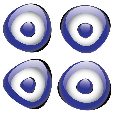 evil eye: Turkish lucky charm evil eye bead
