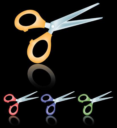 a set of scissors Stock Vector - 2511934