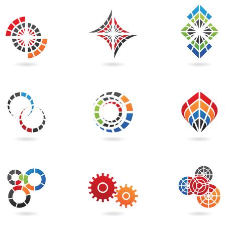 geometria: logos para ir con el nombre de su empresa (de 9)