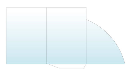 vector illustration of a folder template isolated Vector