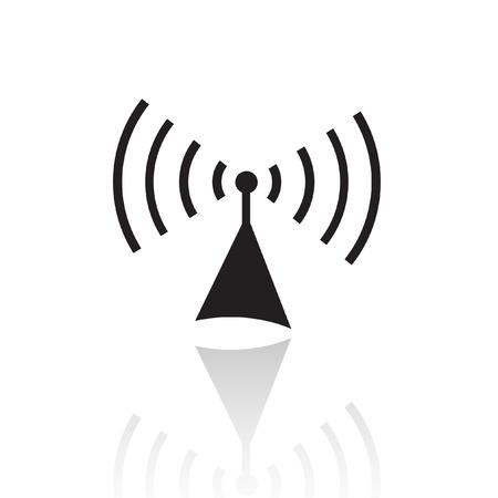 Black Radio, isoliert auf weiss