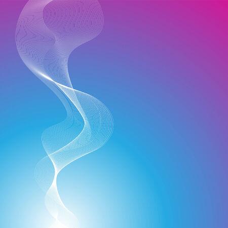 light streaks: An abstract blue magenta background design