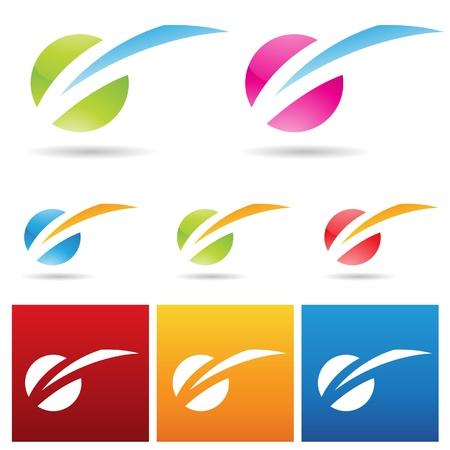 lightning bolt: illustration of colorful light struck icon