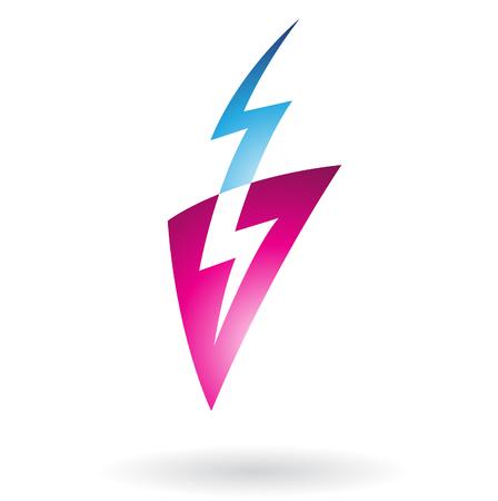 thunder: Thunder Strike Abstract Icon