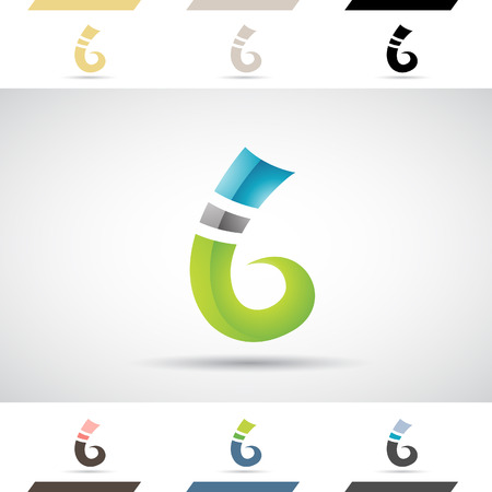 stock clip art: Design Concept of Colorful Stock   Icons and Shapes of Letter B, Vector Illustration
