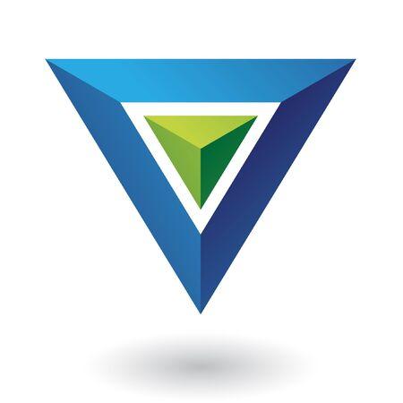 Geometric logo icon and design element Stock Photo