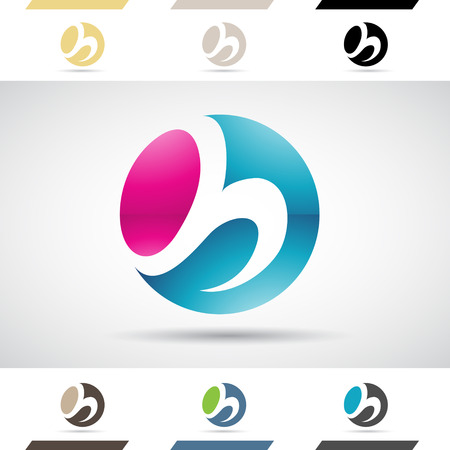 stock clipart icons: Design Concept of Colorful Stock Logos Icons and Shapes of Letter H, Vector Illustration