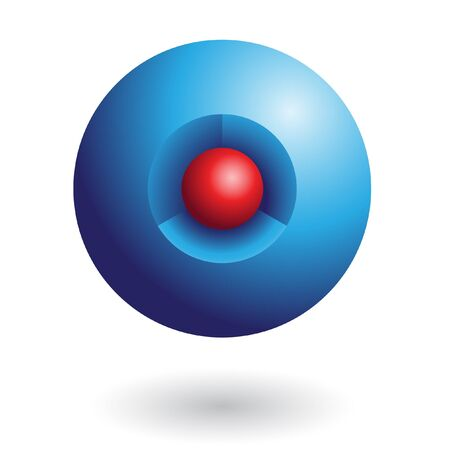 3d geometric logo icon and design element Stock Photo