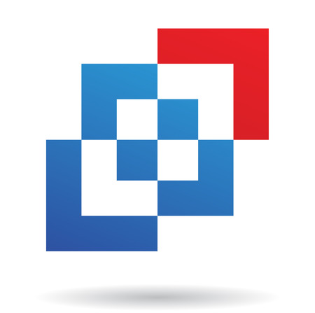 rectangular: Abstract logo icon and design element