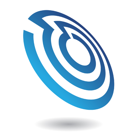 Abstract circle logo icon and design element Stock Photo