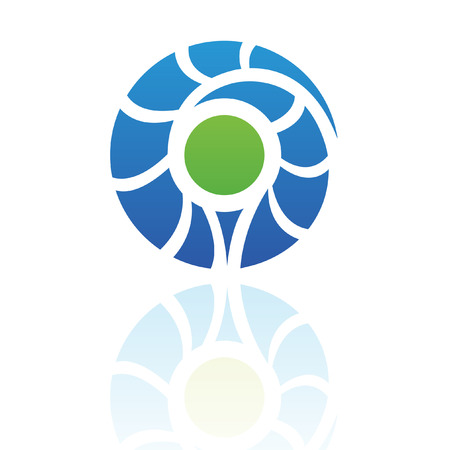 element: Nature element logo icon and design element Stock Photo